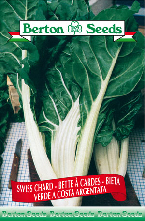 Green Silver Ribbed Swiss Chard Seeds