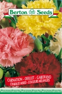 Chabaud Mix Carnation Seeds